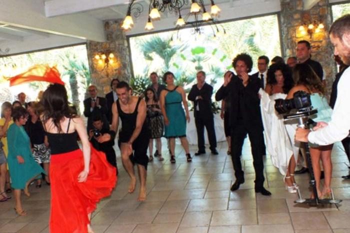 Ballerine pizzica matrimonio Bari