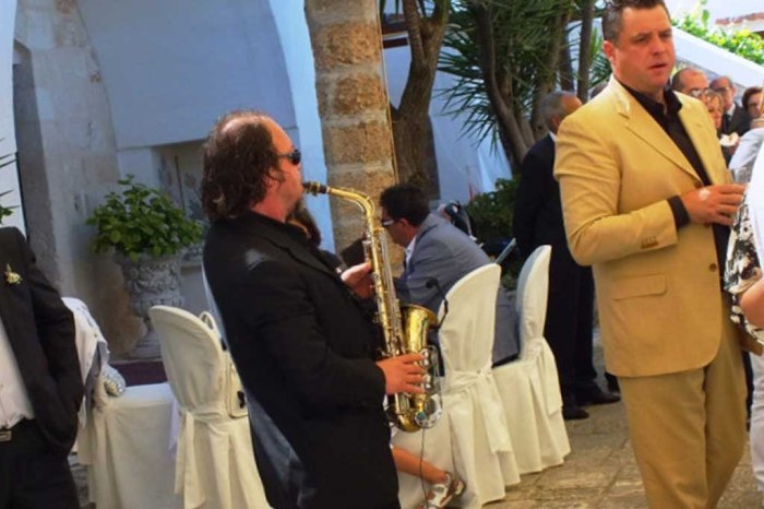 sassofonista matrimonio Bari e Provincia