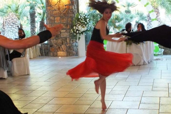 Spettacolo di ballerine pizzica matrimonio Bari