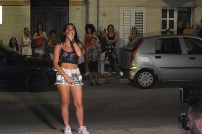 Fasano in Provincia di Brindisi la serenata alla sposa
