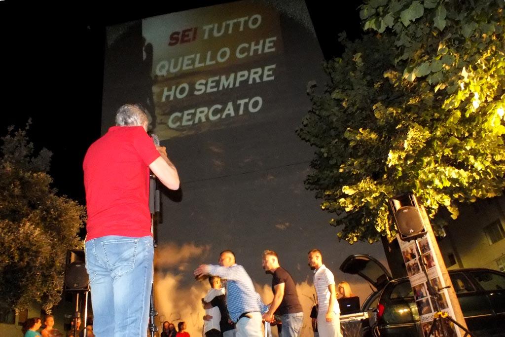 serenata con sorpresa a Fasano Brindisi