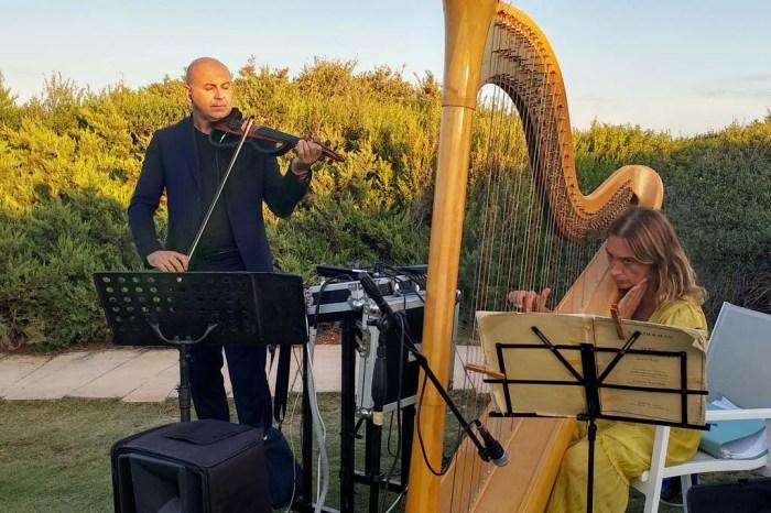 Musica matrimonio masseria Santa Lucia Ostuni