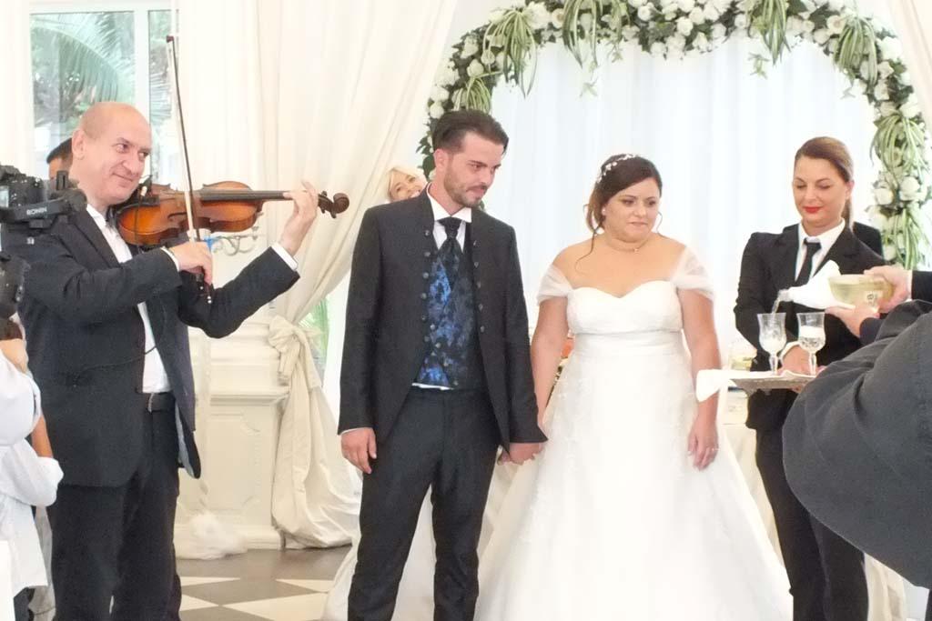 Musica matrimonio Villa Phoenix Copertino