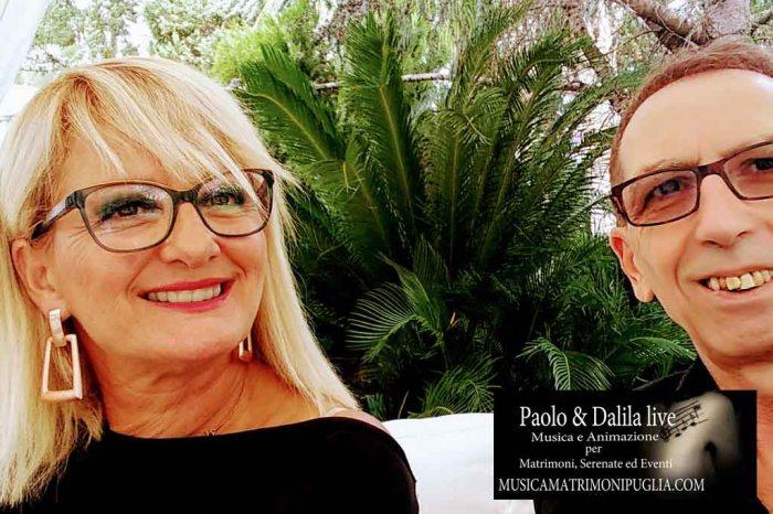 Paolo e Dalila Live musica matrimonio Lecce