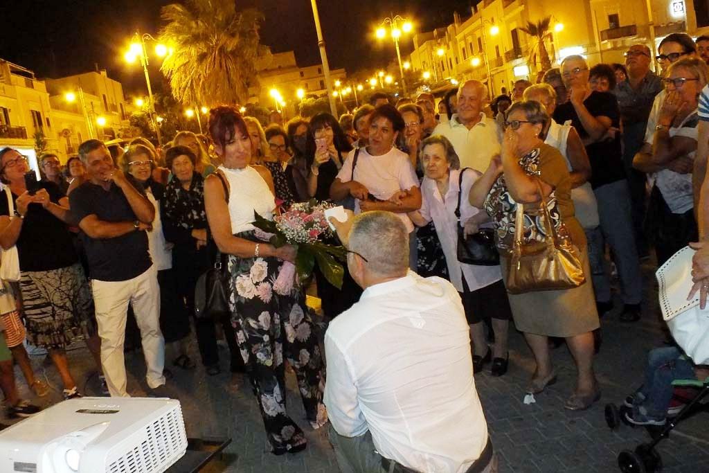 Serenata alla moglie in Provincia di Bari