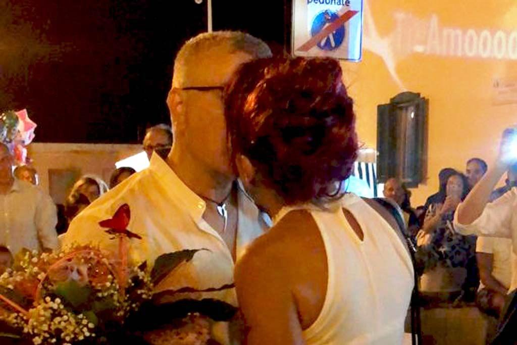 Bari la serenata per anniversario di matrimonio