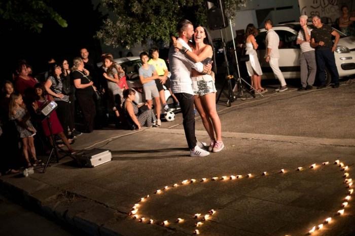 sorpresa serenata alla sposa a Fasano in Provincia di Brindisi