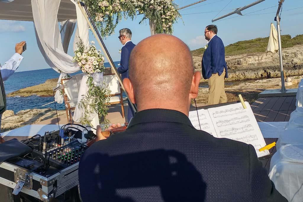 Violinista cerimonia civile Brindisi