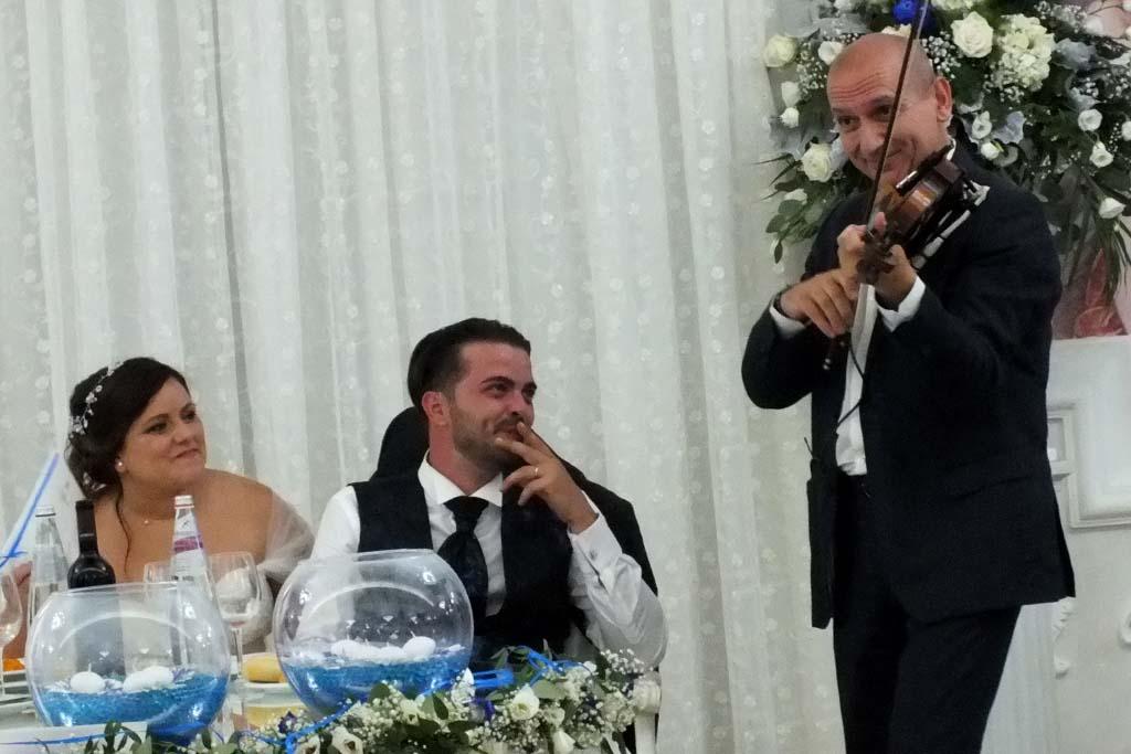 Violinista Lecce matrimonio a Villa Phoenix