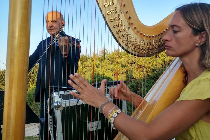 violino e arpa musica matrimonio Brindisi