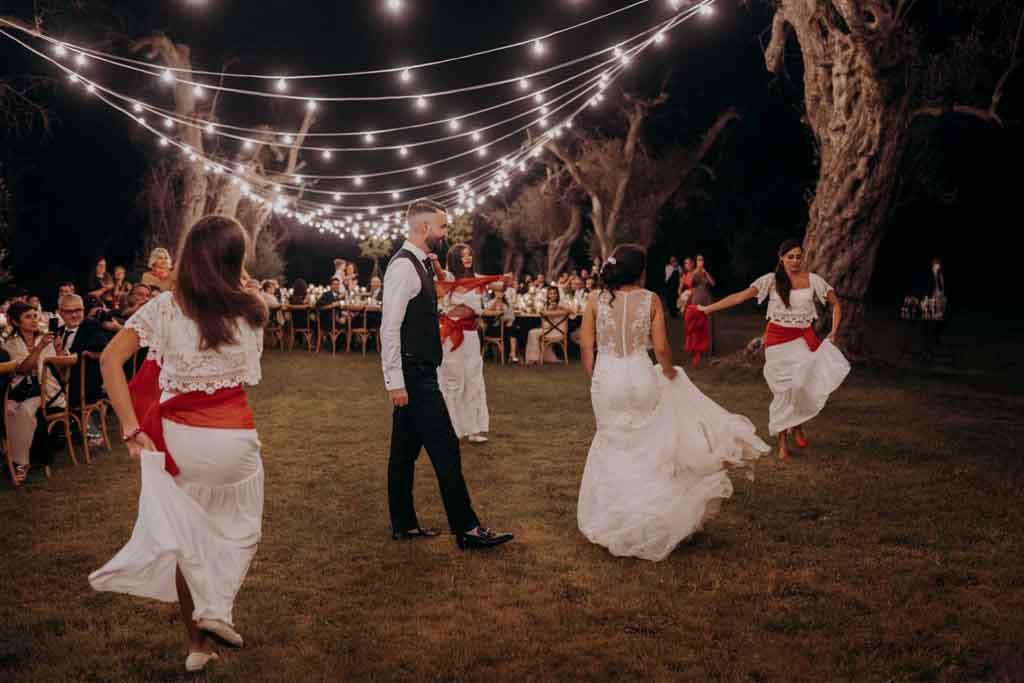 Ballerina Pizzica matrimonio Lecce