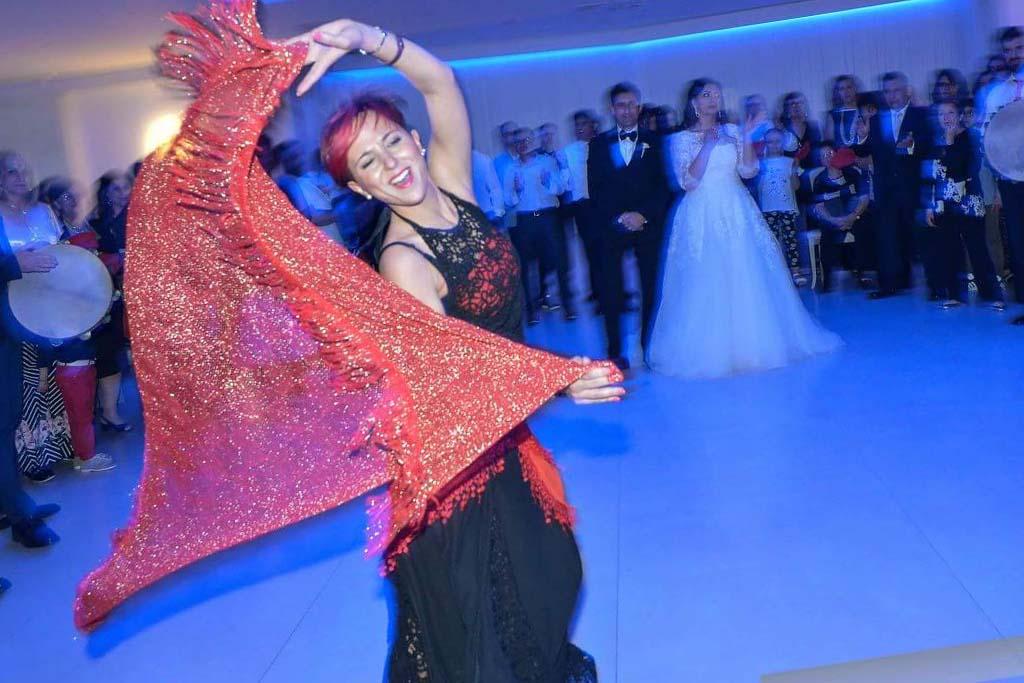 Ballerine pizzica matrimonio Lecce