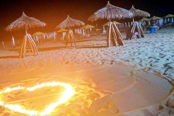 Serenata sulla spiaggia Ginosa Marina