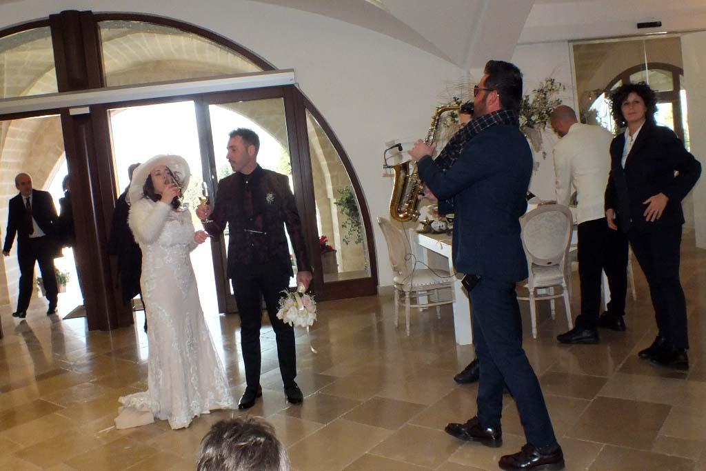 Musica sposi Masseria Caselli