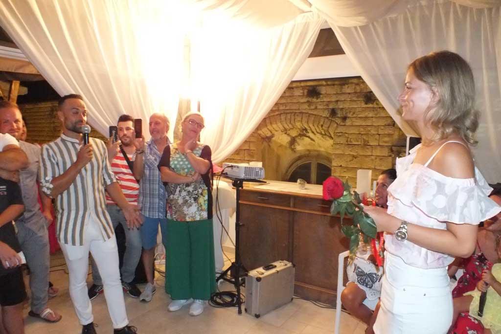 Palazzo Antica Via Appia serenata sposa