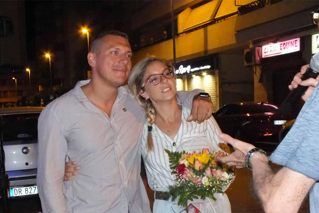 Brindisi serenata d'amore alla sposa