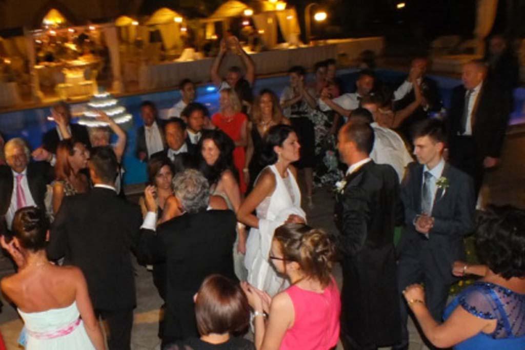 Dopo festa matrimonio dj set