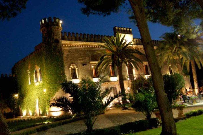 Castello Monaci location matrimonio Lecce