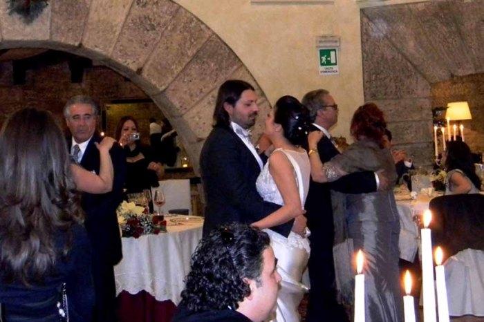 Castello Monaci musica per matrimoni