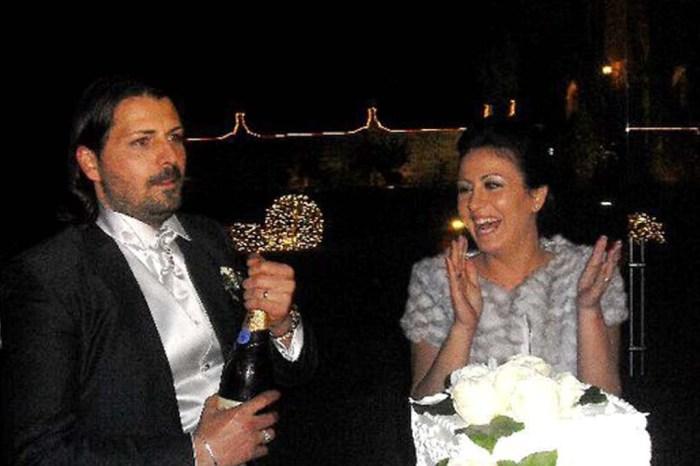 Castello Monaci taglio Torta sposi