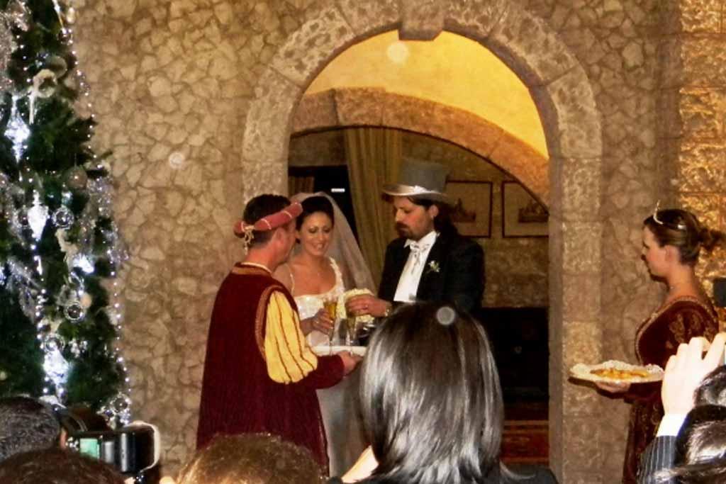 Matrimonio a Capodanno a Castello Monaci