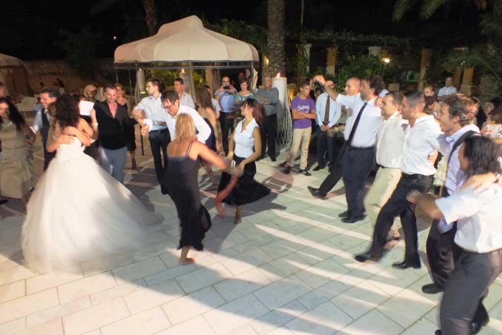 Ballerine di pizzica matrimonio Salento