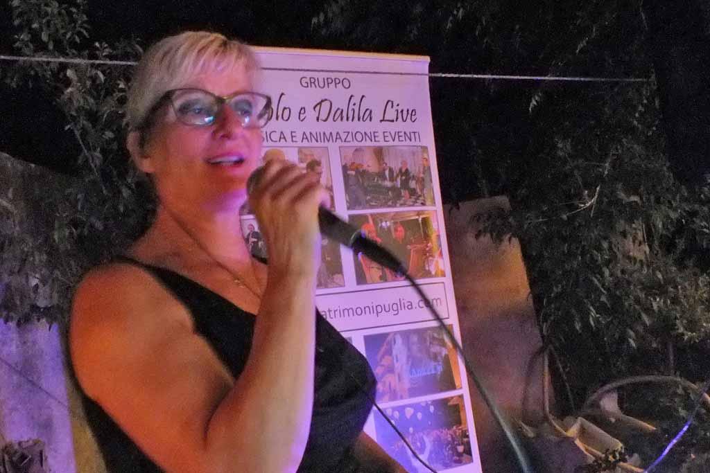 Cantanti per serenata a Monopoli Bari