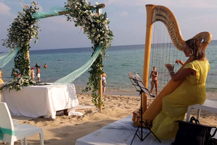 Musiche cerimonia civile con Arpa