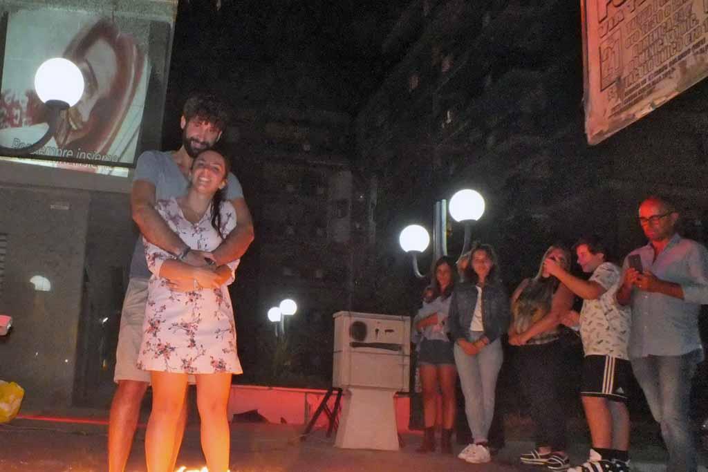 Serenata dedicata alla sposa a Foggia