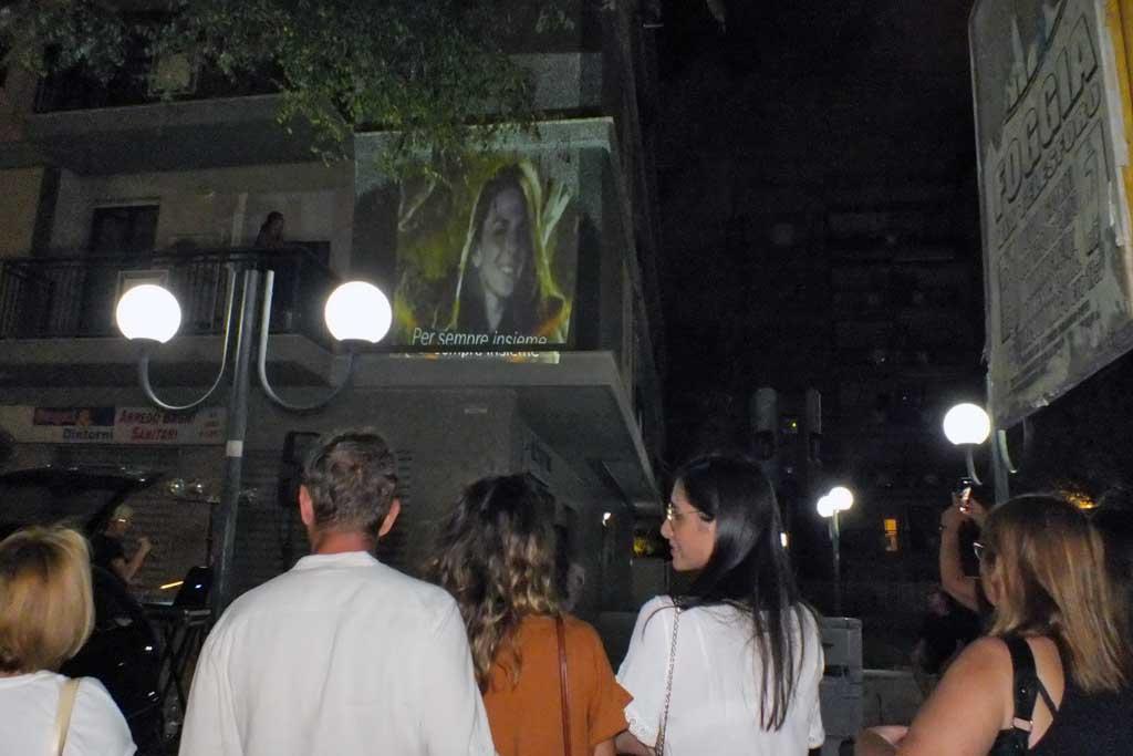 Sorpresa per la serenata a Foggia