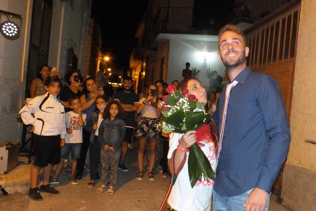 Bari Palese serenata futura sposa
