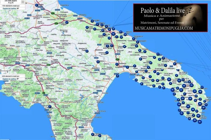 Paolo e Dalila Luive gruppo musicale matrimoni Puglia