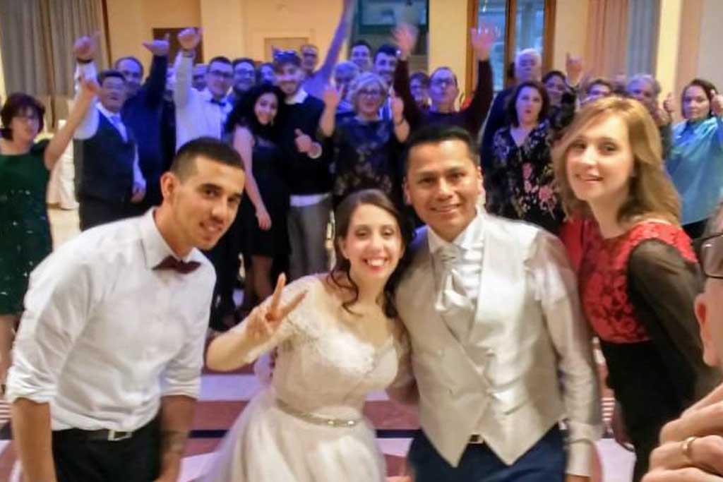 Recensione sposi musica matrimonio Zio Tom a Leuca