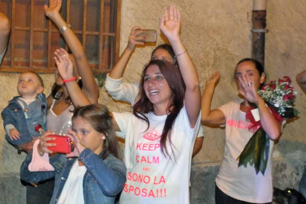 serenata alla futura sposa Bari Palese