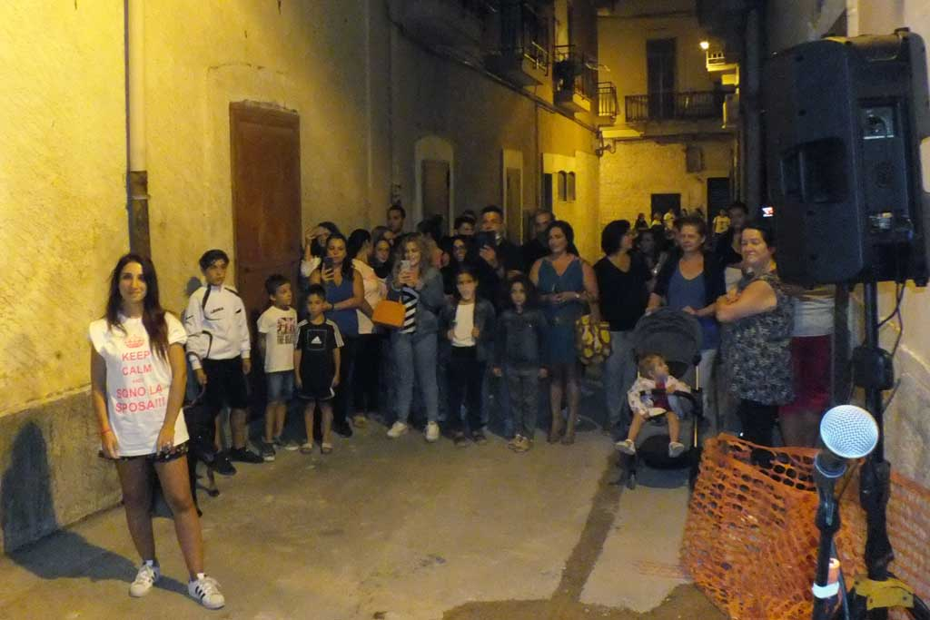 Serenata alla sposa a Bari Palese