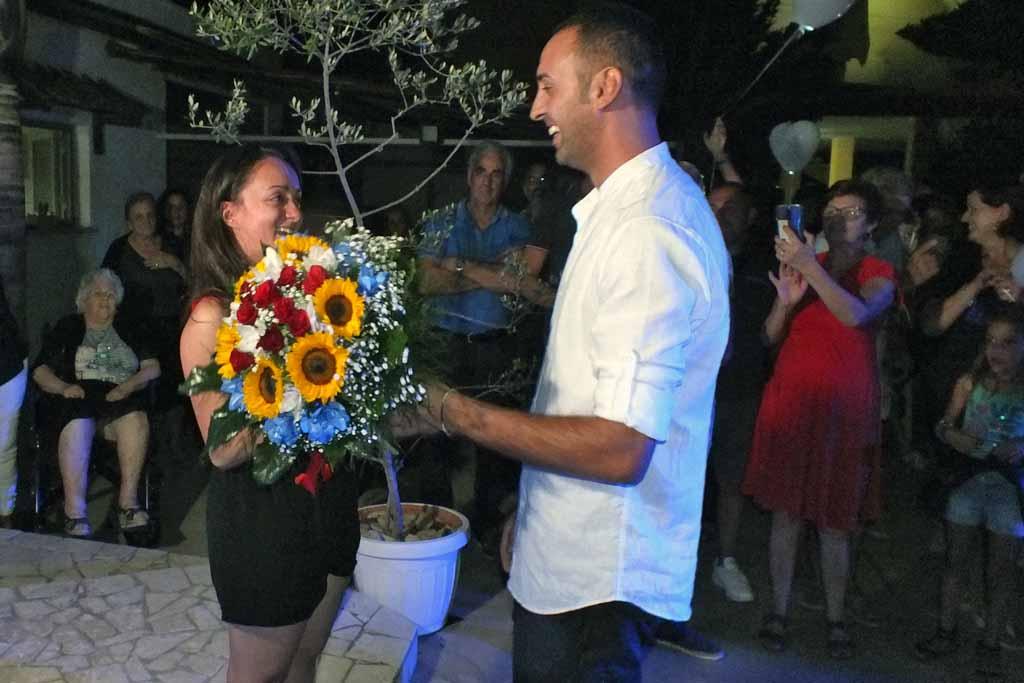 Serenata dello sposo alla sposa a Nardò