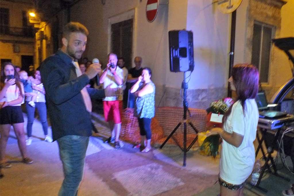 Serenata romantica a Bari Palese
