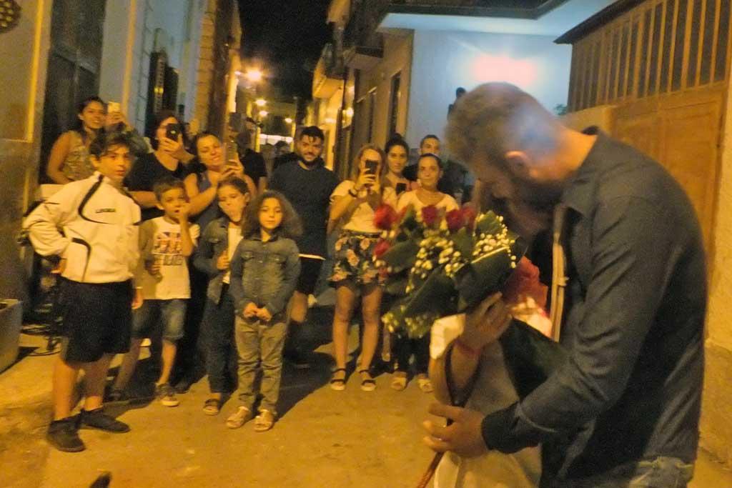 Sorpresa sera prima delle nozze a Bari Palese