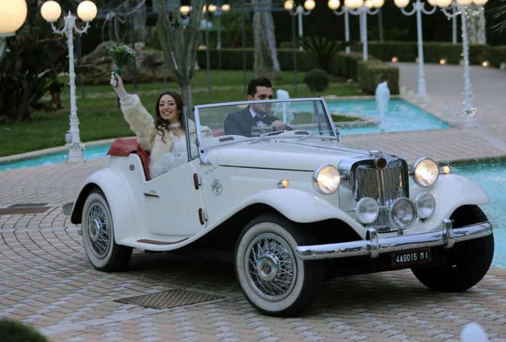 Auto per matrimonio Lecce Brindisi
