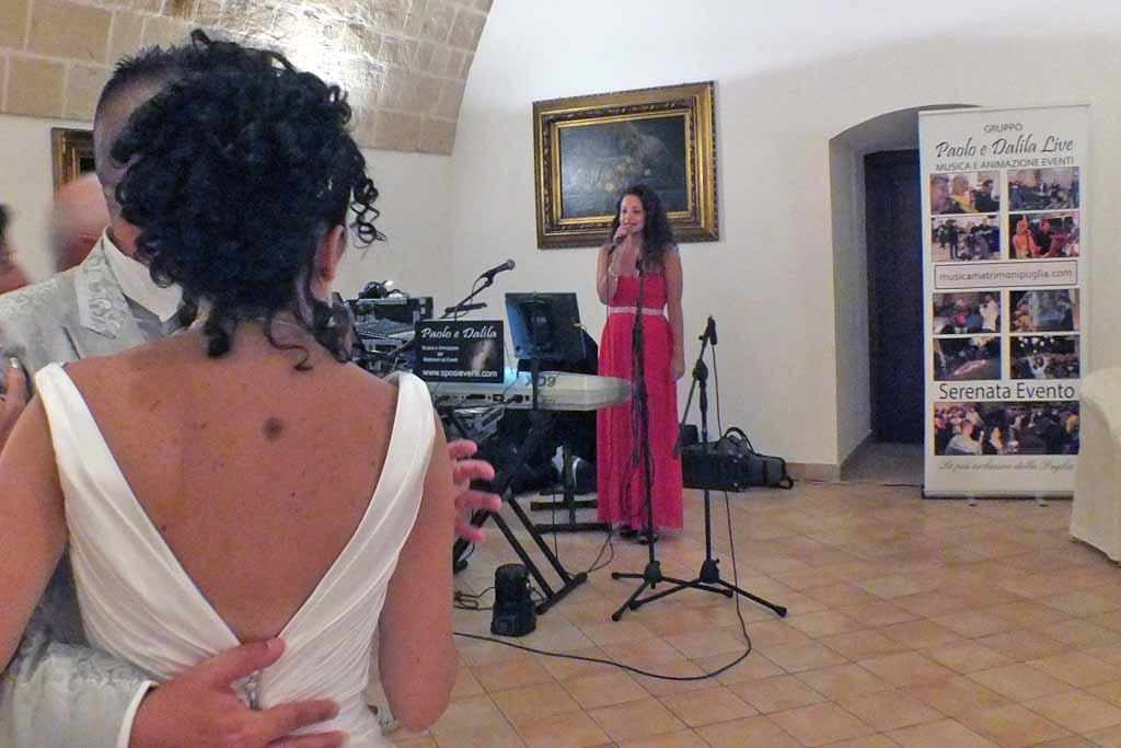 Intrattenimento musicale masseria Torre Spagnola Matera