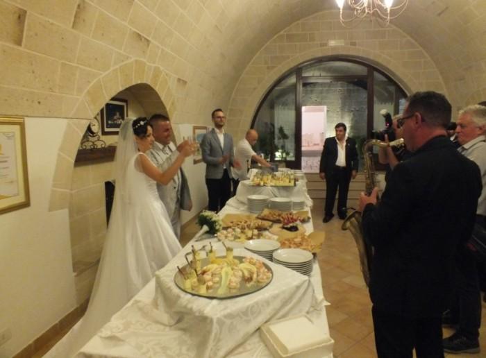 Torre Spagnola matrimonio Matera
