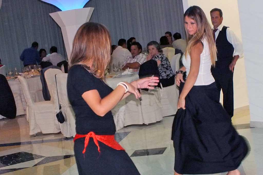 Ballerine di pizzica matrimonio Lecce