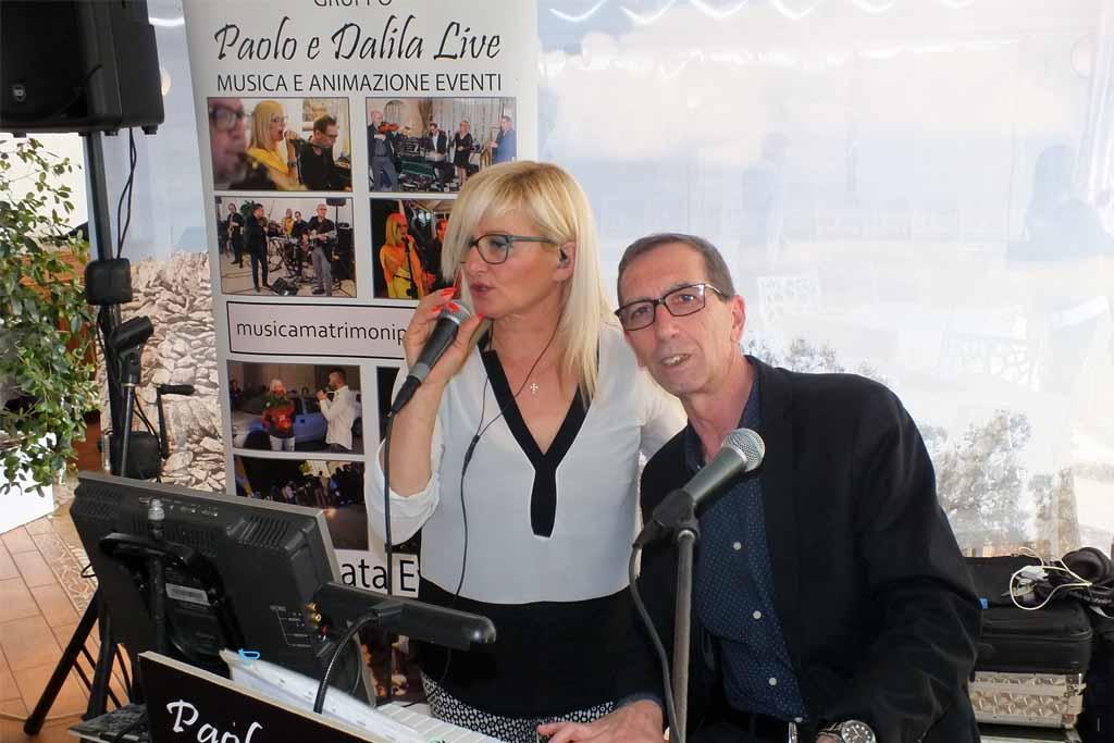 Paolo e Dalila musica matrimonio Lecce