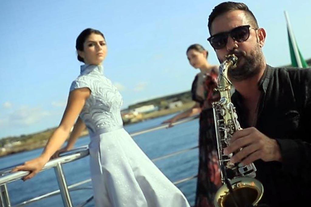 Sax musica matrimonio Lecce