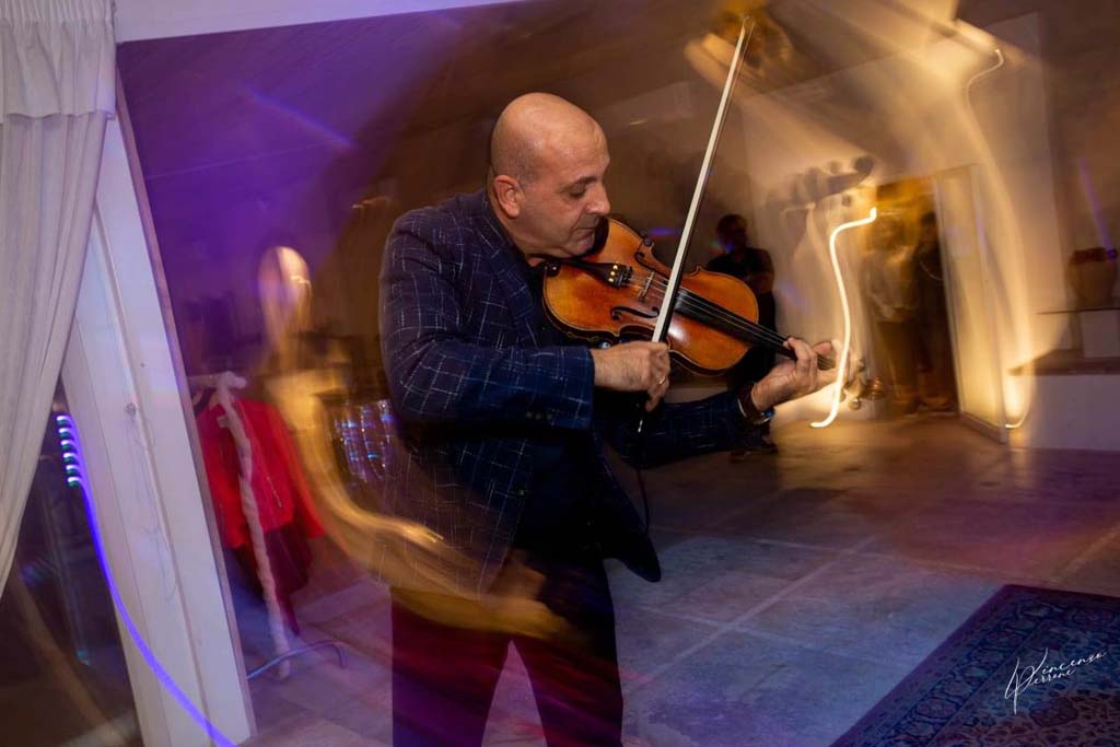 Violinista Lecce Massimiliano Cananà