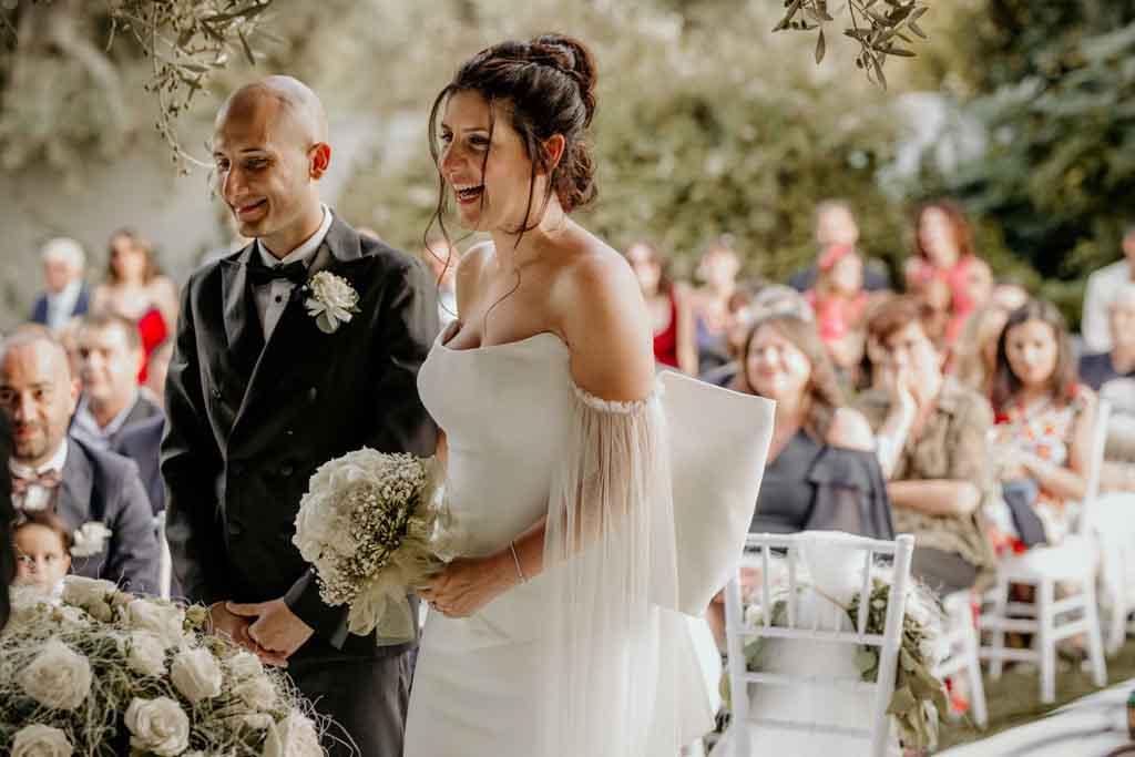 Antonio e Antonella sposi Masseria Montalbano