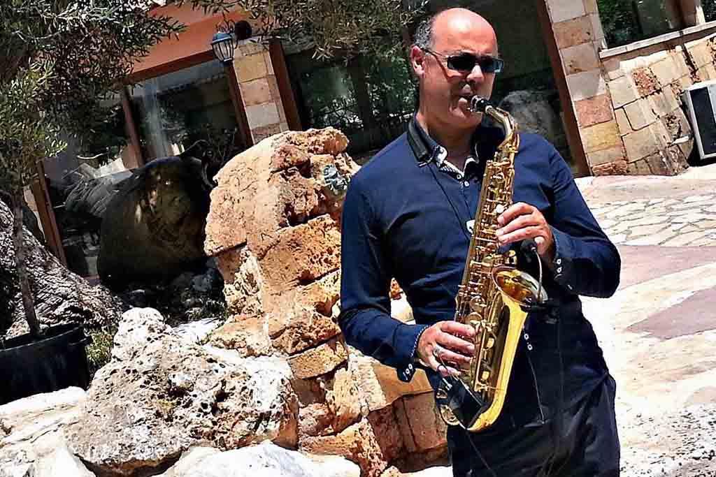 Antonio Inno sassofonista Lecce