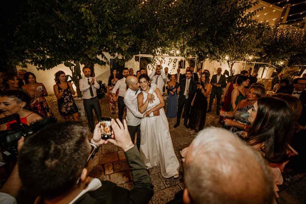 Ballo sposi Masseria Montalbano