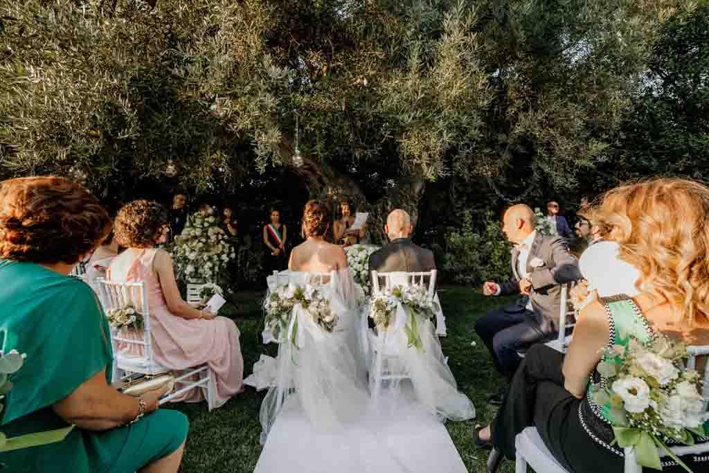 Cerimonia Civile matrimonio Masseria Montalbano