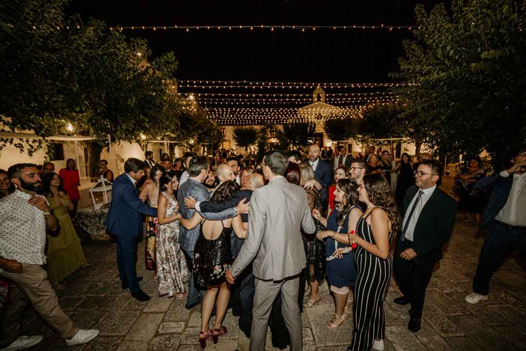Masseria Montalbano animazione matrimonio